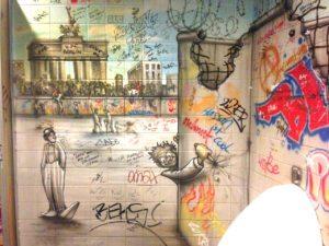 BathroomGraffiti - Berlin: An Urban Futurescape