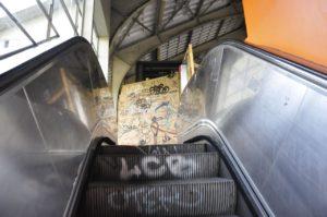 EscalatorGraffiti - Berlin: An Urban Futurescape