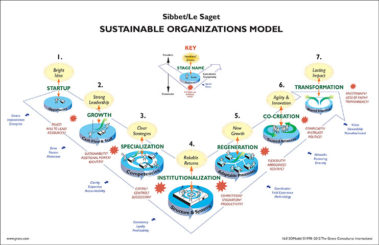 sustainable organizations model - process models - david sibbet