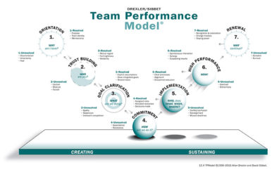 team performance model - process models - david sibbet